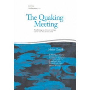 The Quaking Meeting (2009 James Backhouse Lecture) eBk
