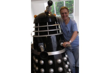 Dalek & David in the Sydney Morning Herald
